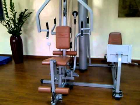 Gym at GH2 Accommodation