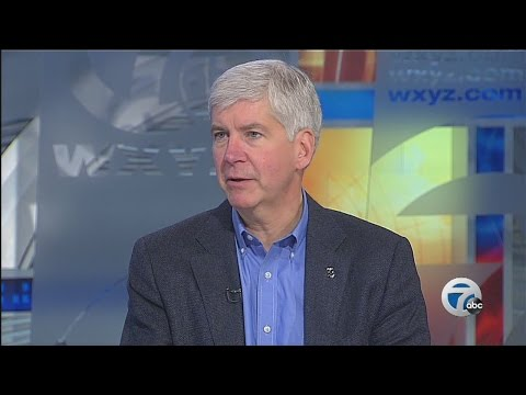 Rick Snyder on day after reelection