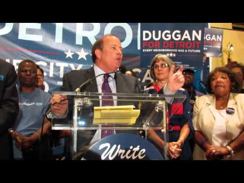 Mike Duggan Primary Night Victory Speech