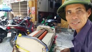 Nghề Ép dẻo đường phố Sài Gòn trưa 20.6.2017