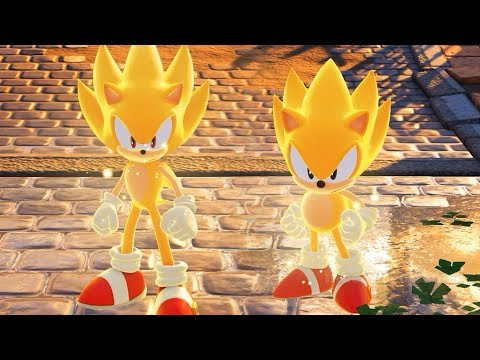 Sonic Forces - Modern & Classic Super Sonic Gameplay!