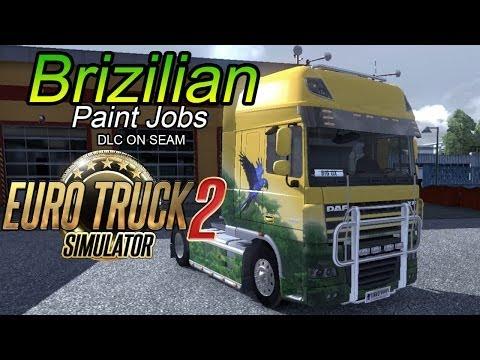 ETS2 DLC Brazilian Paint Jobs Pack | IT