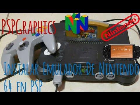 Instalar Emulador de Nintendo 64 para PSP.