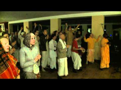 2011.01.15. Mangala Arati - Vaishnava Winter Festival - Lithuania video
