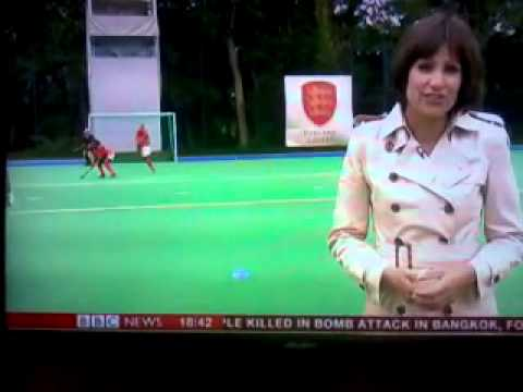 BBC World reports about Ghana Black Sticks in England