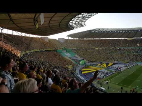 """Scheiß DFB"" Wechselgesang    DFB Pokalfinale 2017    BVB - SGE 2:1"