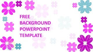 Background Powerpoint Elegant Pink - Free Download