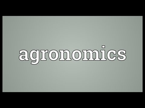 Header of agronomics