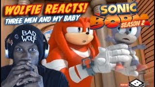 """Wolfie Reacts: Sonic Boom Season 2 Episode 40  """"Three Men and my Baby"""" - Werewoof Reactions"""