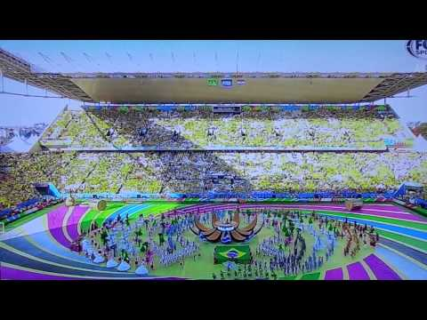 HD we are one ole ola 2014 fifa tm world cup opening ceremony brazil 12 june 2014