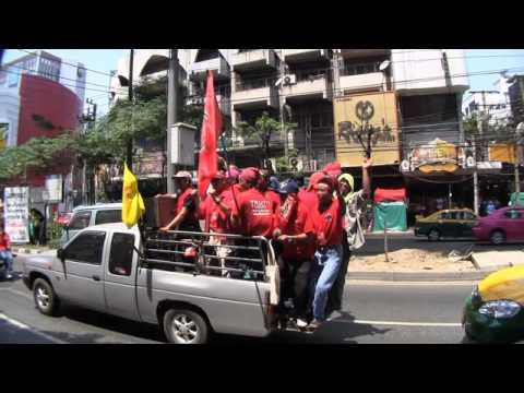 Thai Red Shirt Protest  Bangkok 2010