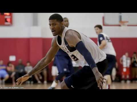 Paul George Injured Leg During Team USA Basketball Scrimmage