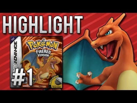Pokemon FireRed Nuzlocke Randomizer Day 1 - Highlight