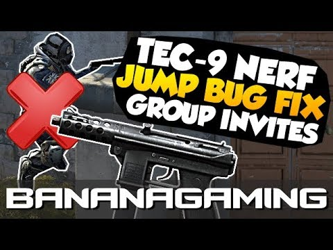 CS:GO Update - Tec-9 Nerf, Jump Bug Patched & No More Group Invites!