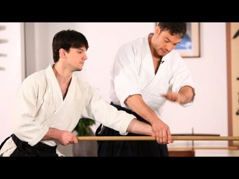 Aikido Weapons: Jo Tori  |  How to Do Aikido Image 1