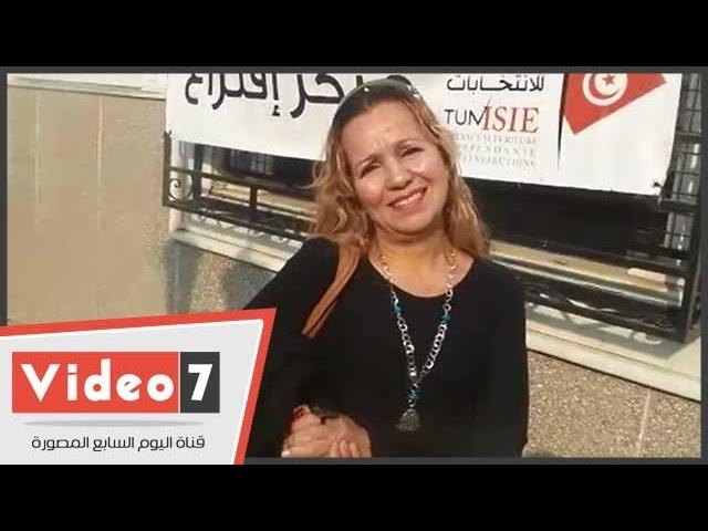 """بالفيديو..تونسية:""""رشحت السبسى عشان زى الرئيس السيسى..والمرزوقى زى مرسى"""""""