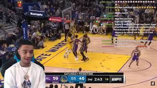 Wiggins Debut! FlightReacts Los Angeles Lakers vs Golden State Warriors - Full Highlights 2020!