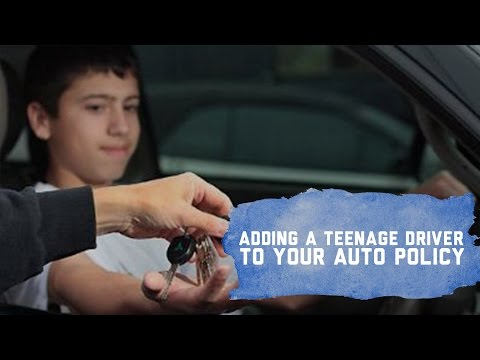 Auto Insurance For Teenage Drivers
