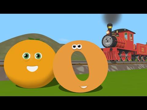 Trenu - Descopera litera O cu trenuletul Shawn