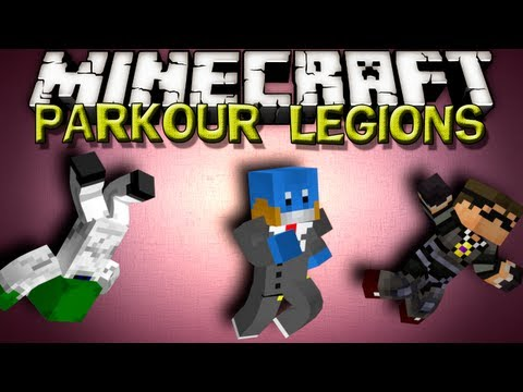 Minecraft Parkour Legions - BIOME JUMPER w/ SkyDoesMinecraft and KermitPlaysMinecraft
