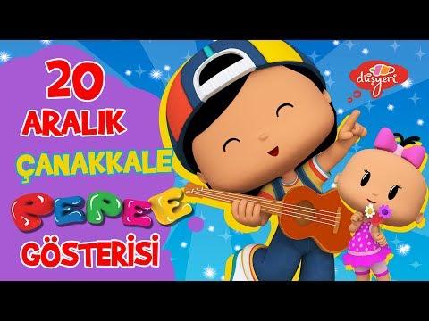 Pepee 20 Aralık'ta Çanakkale'de Sevenleriyle Buluşacak!