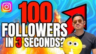 Simple Trick | How To Get 100 Instagram Followers a Day For Free