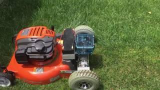 Magician Frank Paris My New Custom Made Husqvarna Remote Control Lawn Mower Part 2