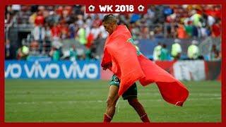 Marokko uitgeschakeld op WK voetbal