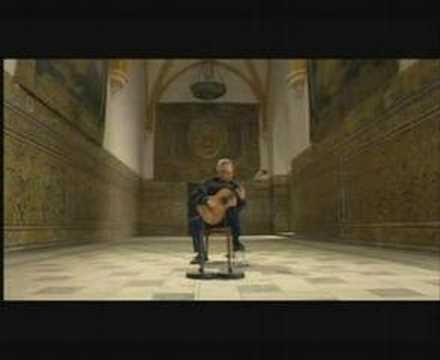 Исаак Альбенис - Арабская серенада, табулатура