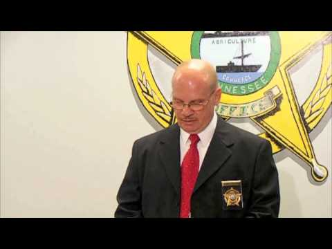Press Conference: Volunteer High School mass shooting plot