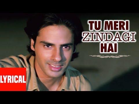 Lyrical : Tu Meri Zindagi Hai With Lyrics | Aashiqui | Rahul Roy, Anu Agarwal video