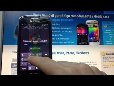 Liberar samsung galaxy s3 mini desbloquear i8190 por - Movical net liberar ...