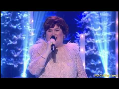 "Susan Boyle ~ ABBA ""Thank You For the Music"" Christmas Party & The Kiss (24 Dec 15)"