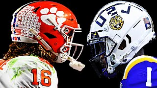 Clemson vs LSU || 2020 National Championship Hype ᴴᴰ