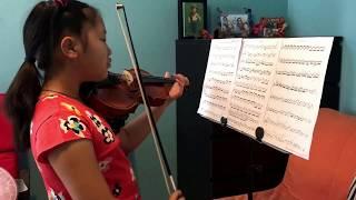 Violin Concerto in D Minor/Vivaldi Op.8 No.7 - by Yufei Shen (learning violin since 09/2014)