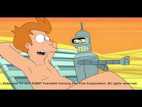 Futurama: Bender's Big Score Trailer