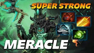Meracle Super Strong Necrophos | 29 Frags | Dota 2 Pro Gameplay