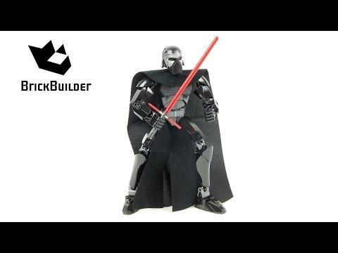 Lego Star Wars 75117 Kylo Ren - Lego Speed Build