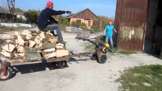 Лесовоз (small timber transport)