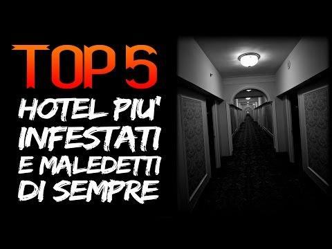 5 HOTEL più Infestati e Maledetti dove passare le VACANZE