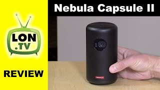Nebula Capsule II Android TV Projector Review