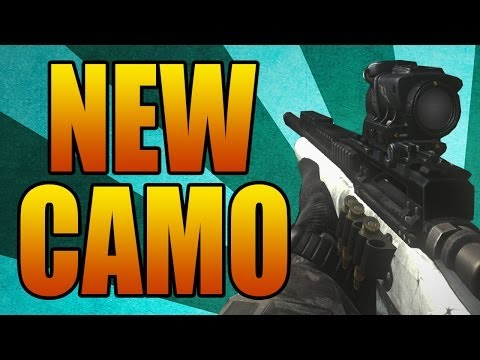 New ADVANCED WARFARE Camo! Ghosts and Black Ops 2 Gameplay (Call of Duty Pre Order Bonus)