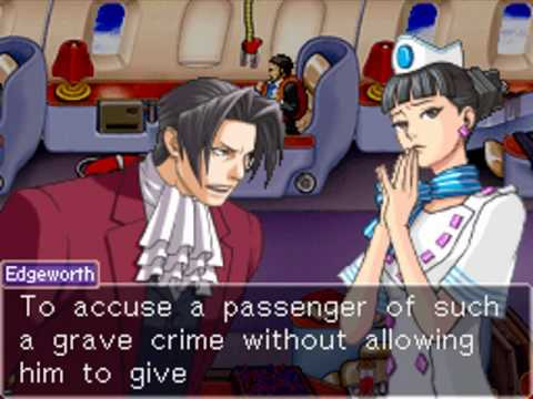 Ace Attorney Investigations: Miles Edgeworth - Turnabout Airlines ~ Beginning (1/6)