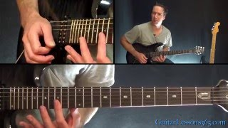Any Way You Want It Guitar Solo Lesson (Main Solo) - Journey