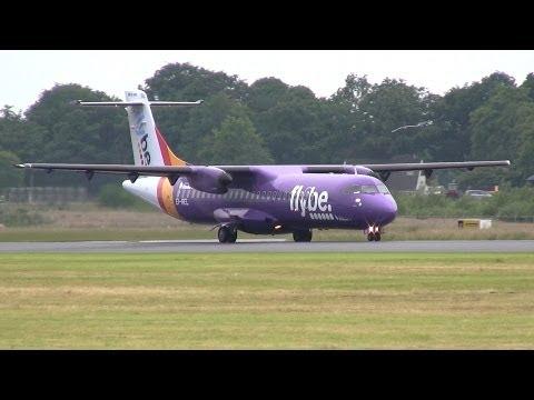 Flybe ► ATR 72-500 ► Landing - Takeoff ✈ Groningen Airport Eelde