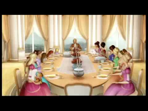 Barbie en Las 12 Princesas Bailarinas - 2006 - Trailer