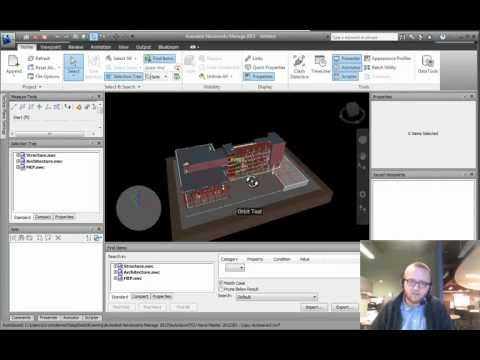NavisWorks Training- Appending Files and Filetypes