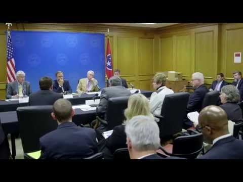 Gov. Bill Haslam: Budget Hearings
