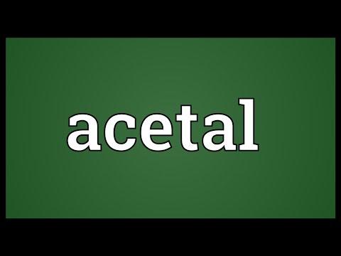 Header of acetal