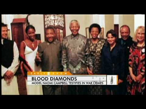 Naomi Campbell's Blood Diamonds